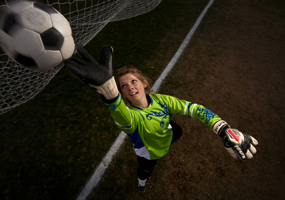 Cheyenne Central keeper Kelley Fisher is the WyoSports Cheyenne prep athlete of the week.