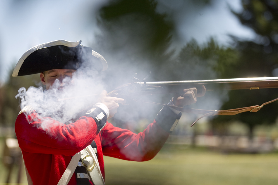 Brown Bess Musket Diagram Brown Bess Musket During a