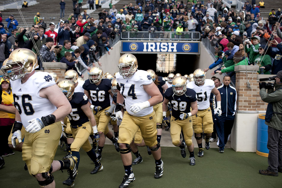 Notre Dame Blue-Gold Game