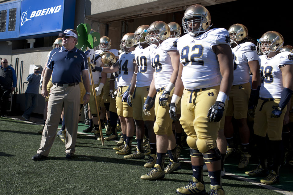 Notre Dame Air Force Football