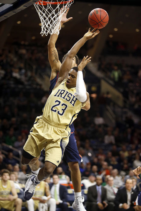Notre Dame Virginia Basketball
