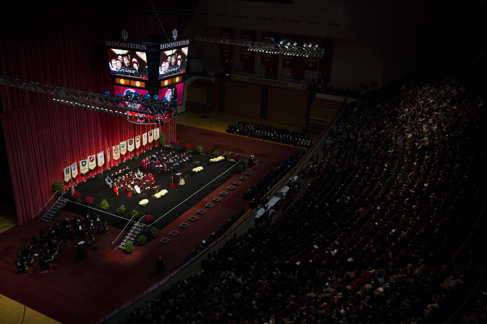 IU Winter Commencement