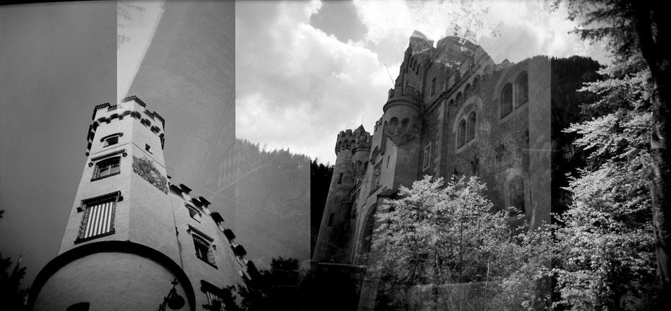 Schloss Hohenschwangau, left, and Schloss Neuschwanstein – Schwangau, Germany