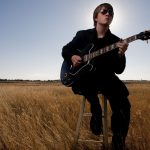 Taylor Scott, the 18-year-old guitarist and vocalist for the Cheyenne-based blues band Another Kind of Magick, poses for a portrait with his Gibson Custom ES 345 guitar on Friday, Sept. 30, 2011, in Cheyenne. (James Brosher/Wyoming Tribune Eagle)