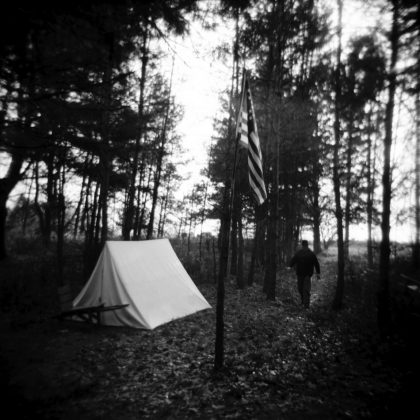 Civil War Winter Encampment