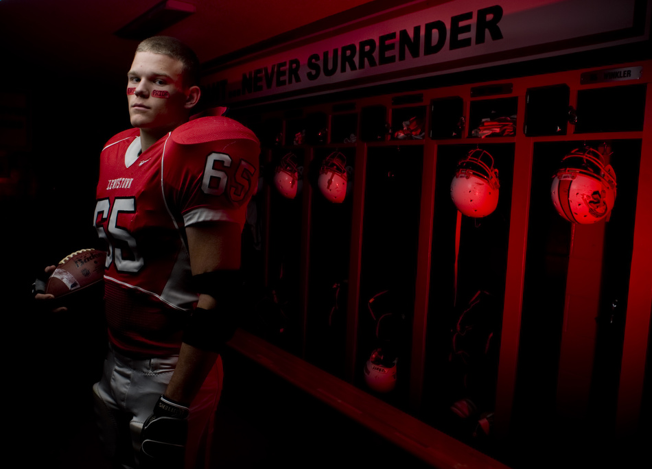 Lewistown High School's Darth Winkler is the 2010 Small School Football Player of the Year for the Peoria Journal Star.