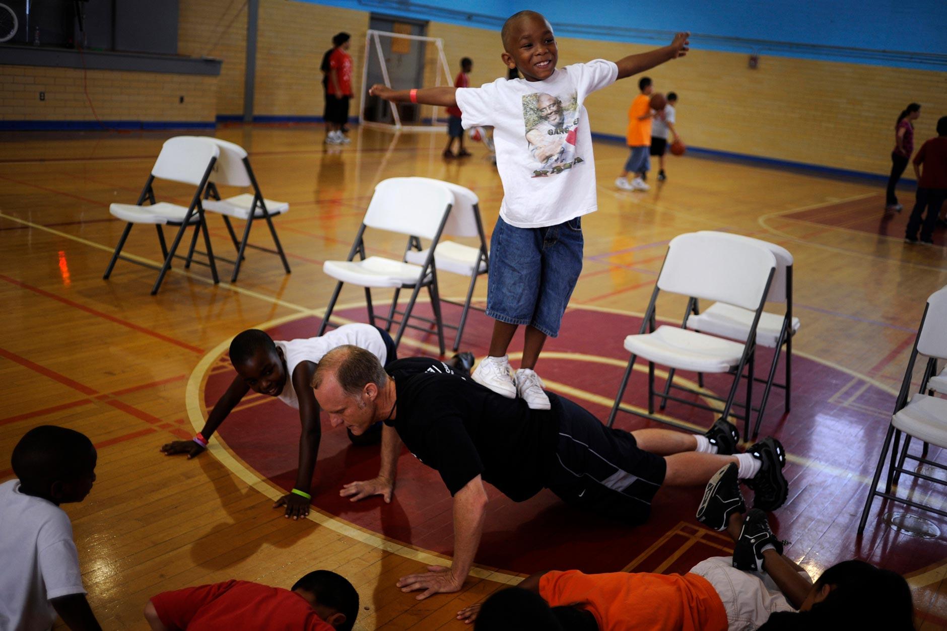 Police Activites League Basketball Camp