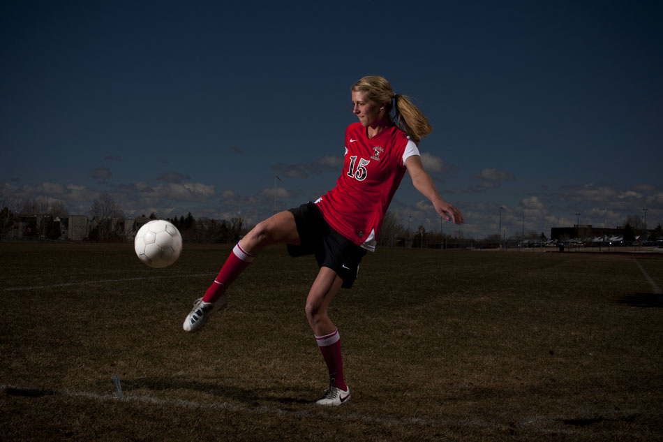 Cheyenne Central soccer player Christie Schiel