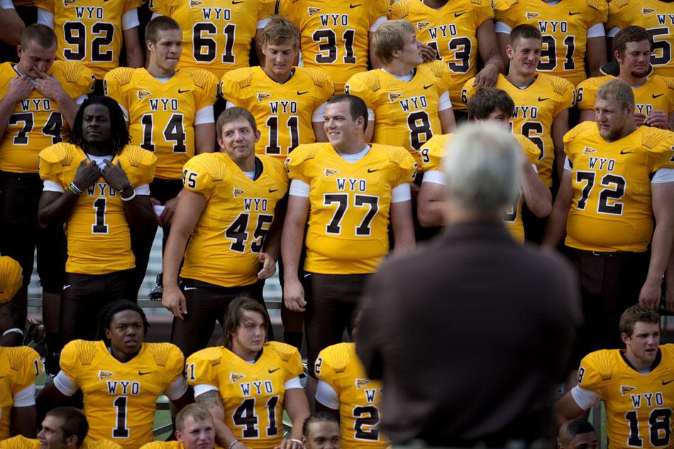 san francisco b6db6 ba615 Wyoming football media day | James Brosher Photography