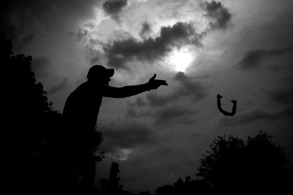 Mishawaka Horseshoe Pitching | James Brosher Photography