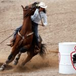 Cheyenne Frontier Days Barrel Racing