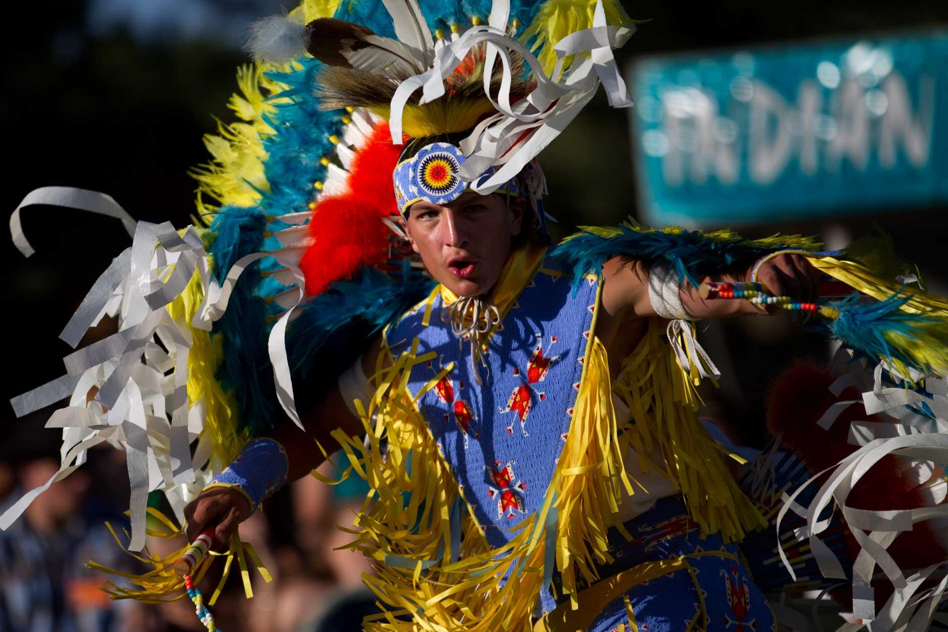 Cheyenne Frontier Days Indian Village