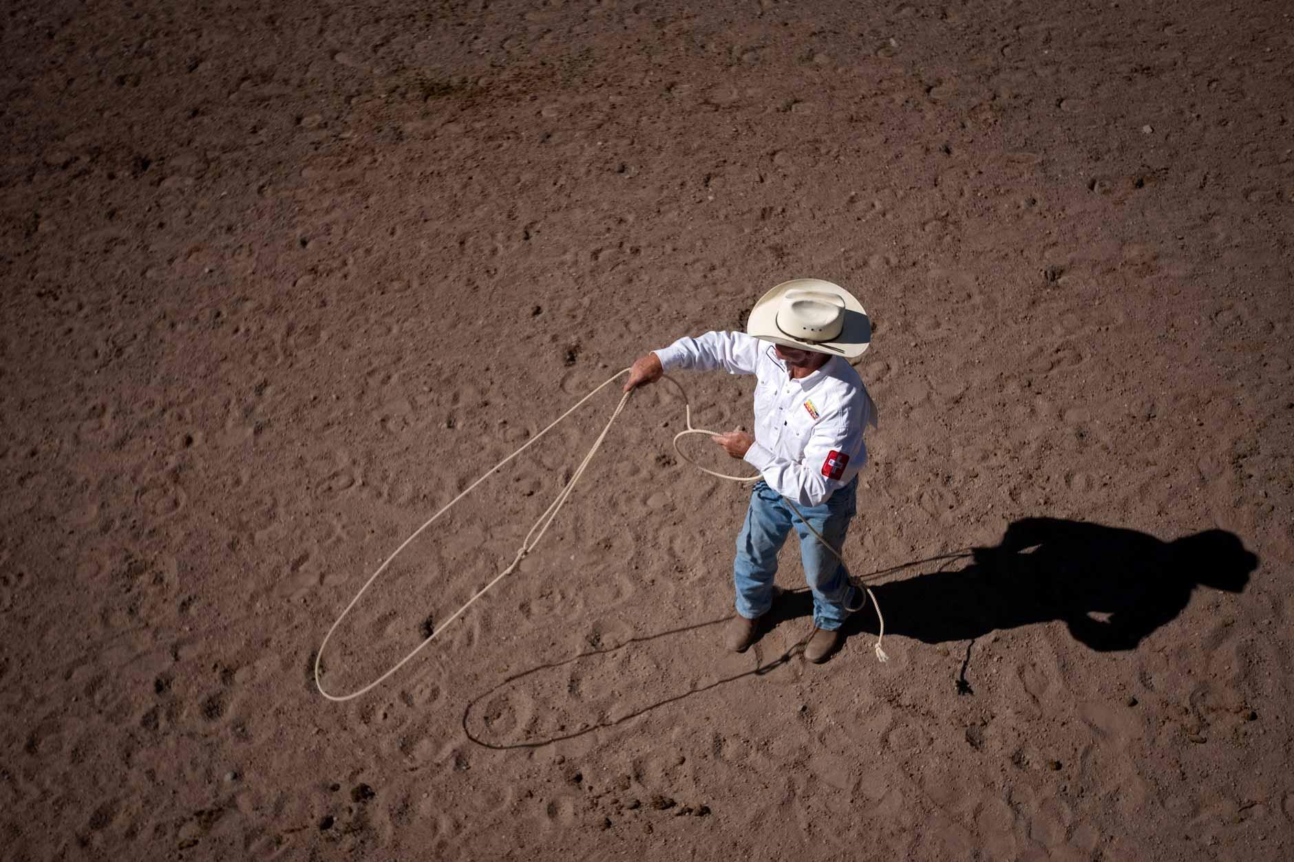 Cheyenne Frontier Days Steer Roping