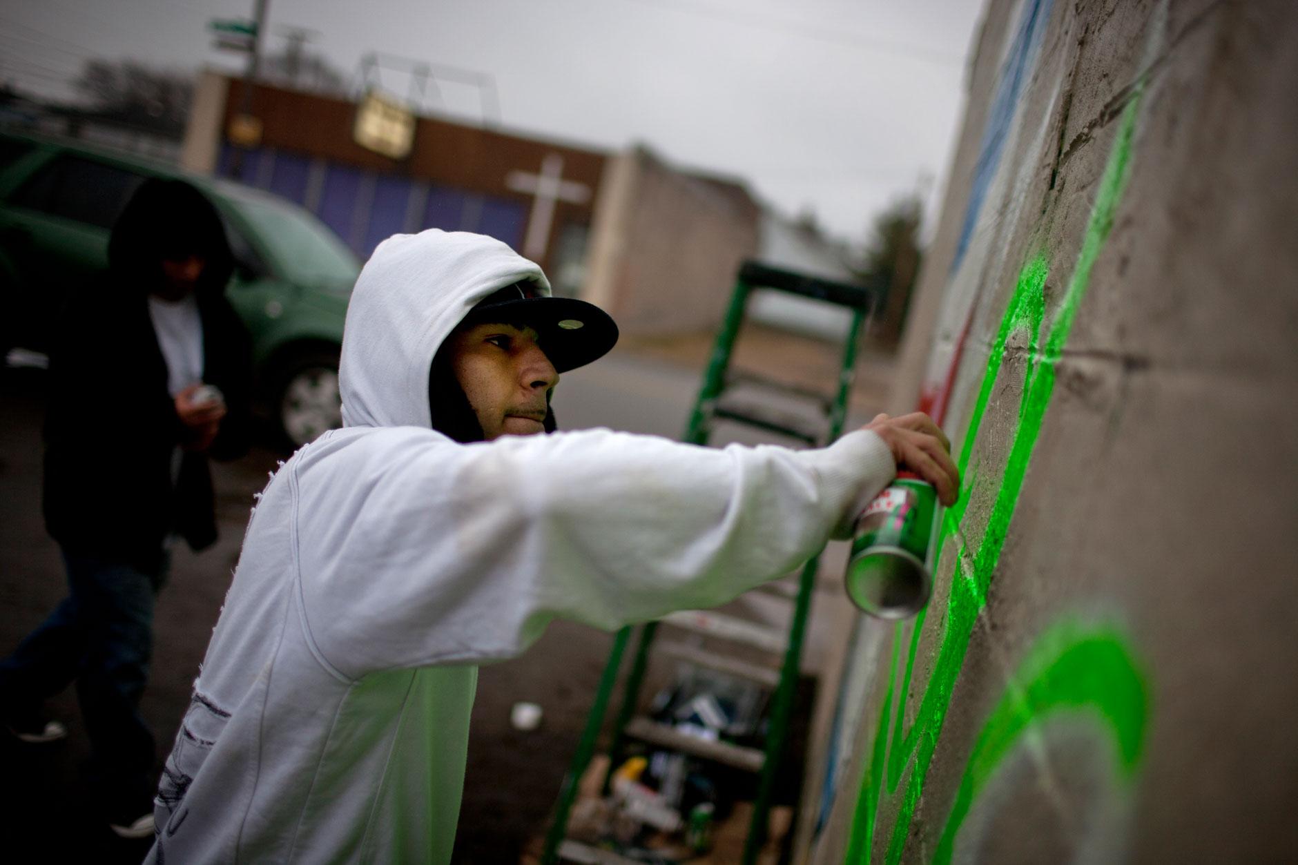 West Side Barbershop Mural