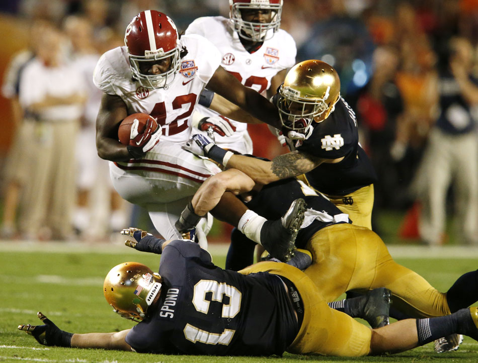 Notre Dame Alabama BCS National Championship
