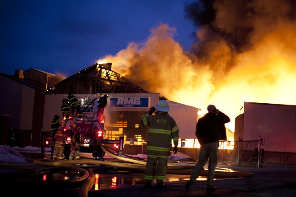 RMG Foundry Fire