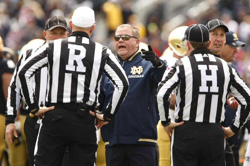 Notre Dame Blue-Gold Game