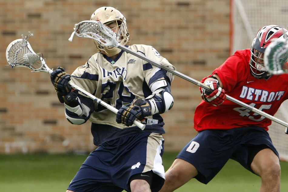 Notre Dame lacrosse comes from behind to defeat Detroit ...