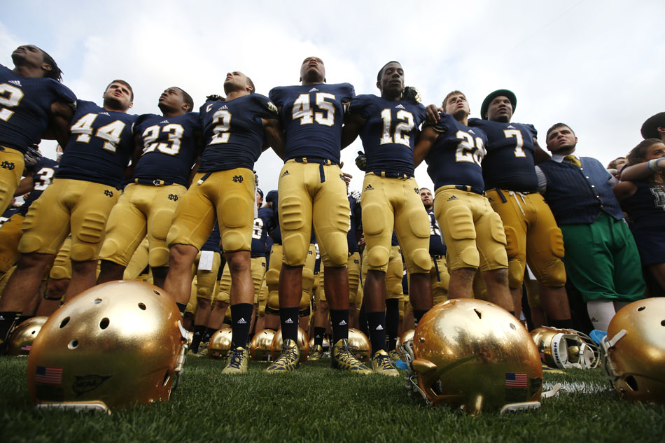 Notre Dame Temple Football