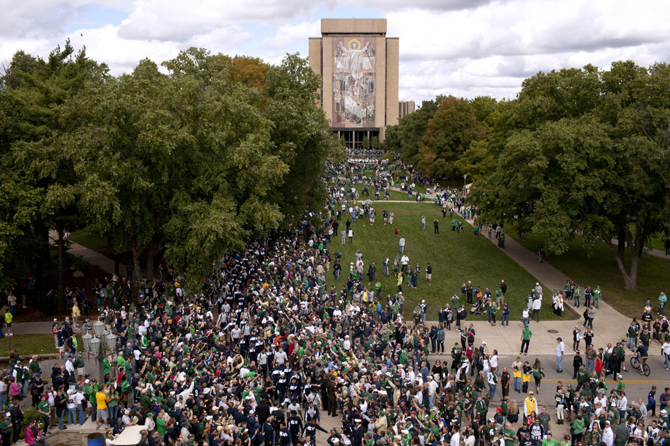 Notre Dame Michigan State Football