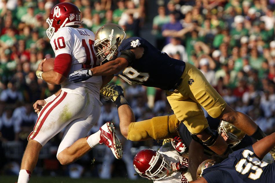 Notre Dame Oklahoma Football