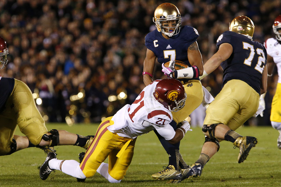 Notre Dame USC Football