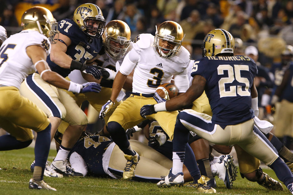 Notre Dame Pittsburgh Football