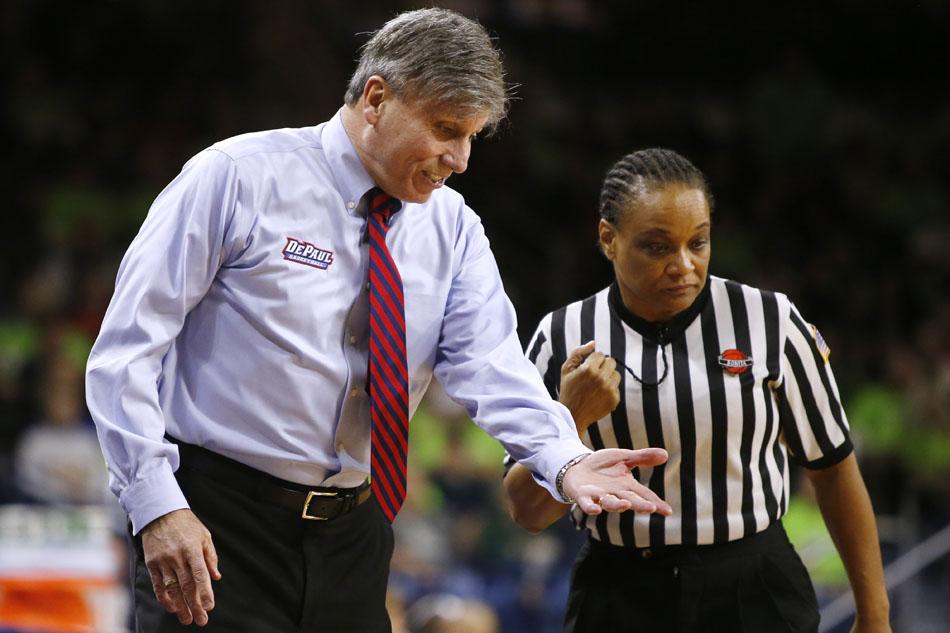 Notre Dame DePaul Women's Basketball