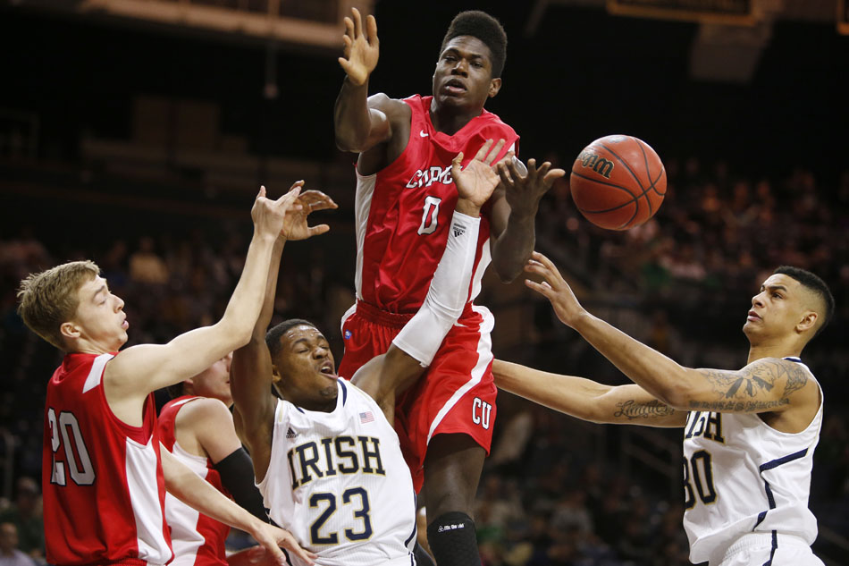 Notre Dame Cornell Basketball