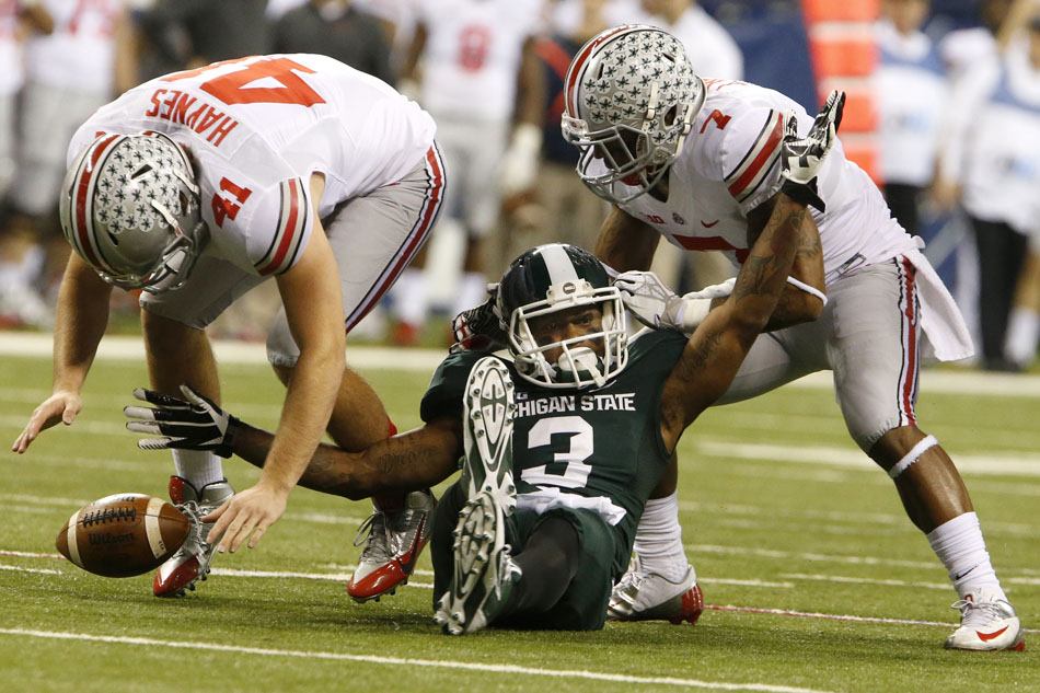 Michigan State Ohio State Big Ten Championship Football