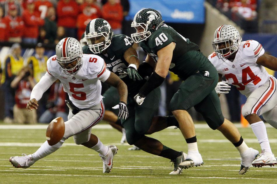 Michigan State Ohio State Big Ten Championship Football