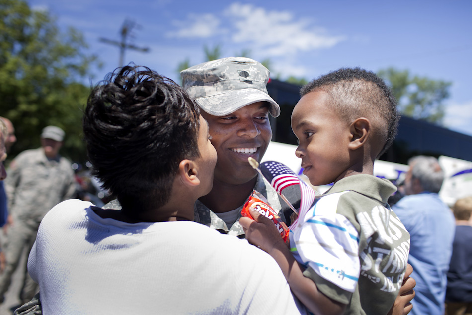 428th Military Police Company Return