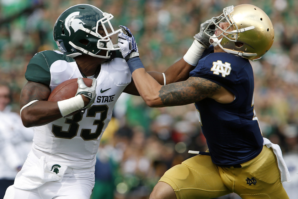 Notre Dame Michigan State Football