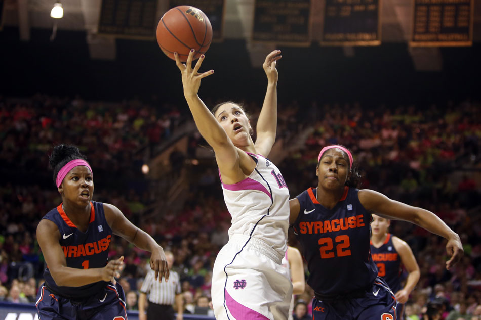 Notre Dame Syracuse Basketball