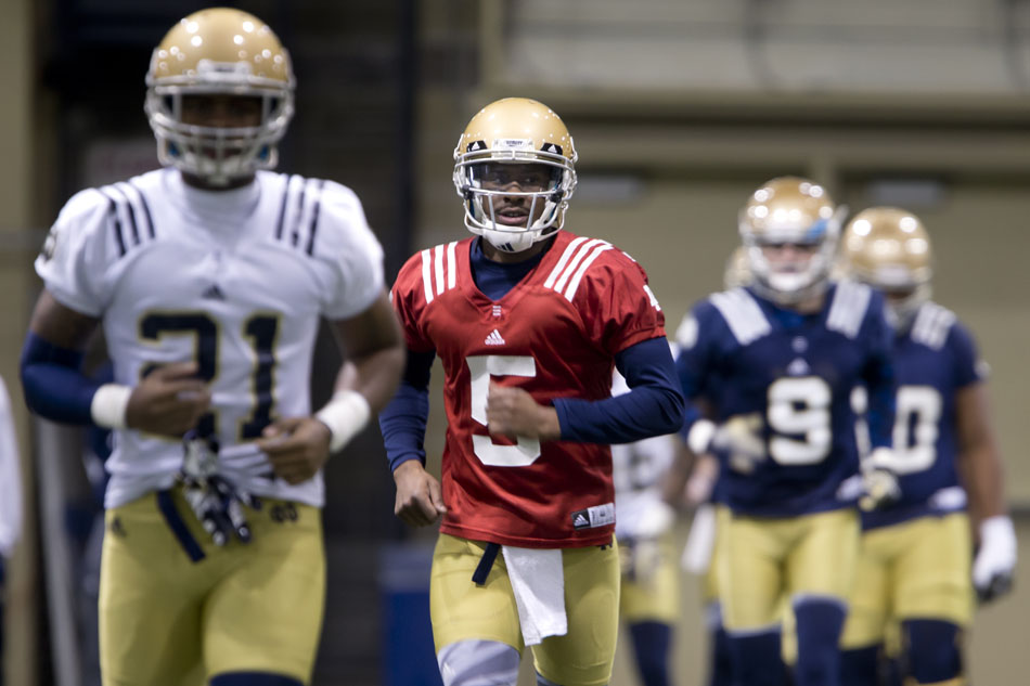 Notre Dame Football Spring Practice
