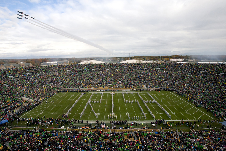 Notre Dame Navy Football