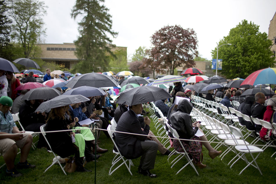 Saint Mary's College Commencement