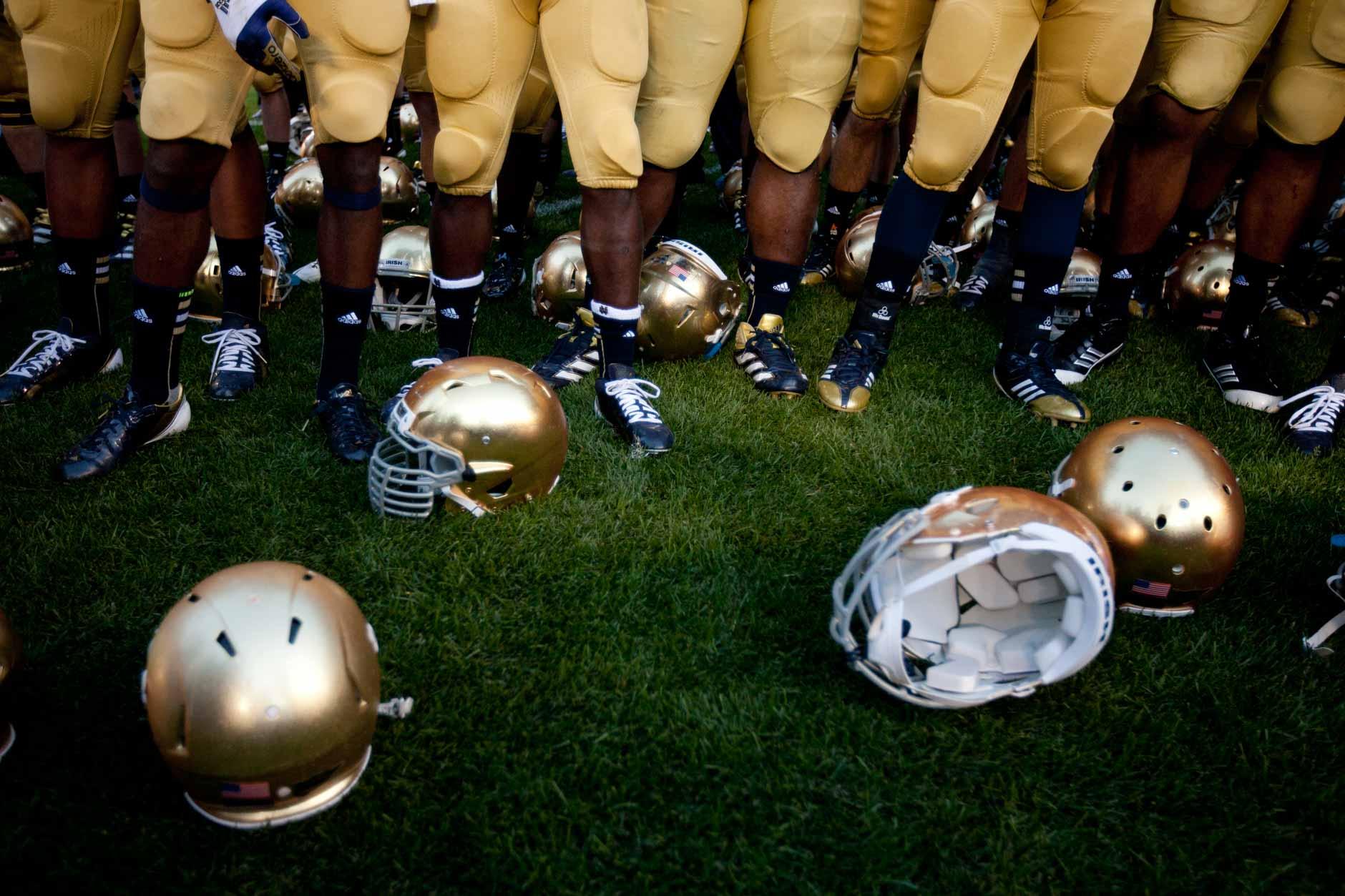 Notre Dame Purdue Football