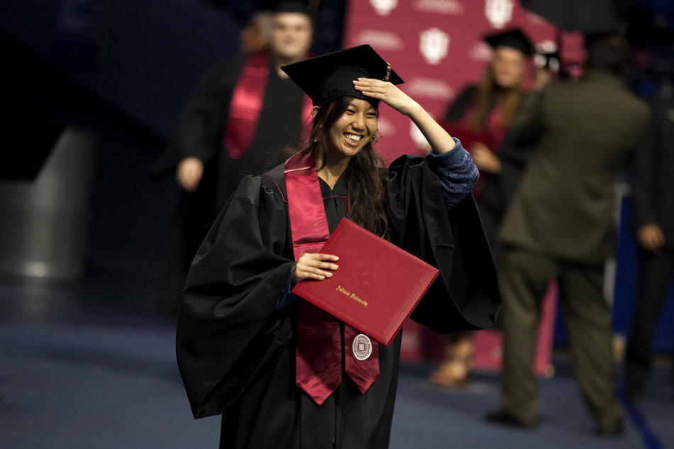 IU South Bend Commencement