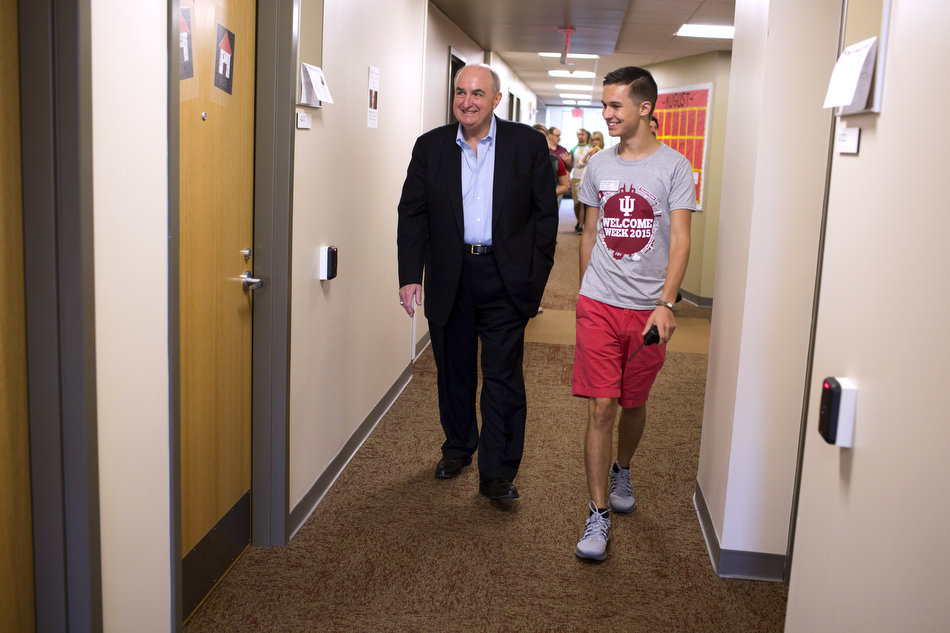Michael A. McRobbie, Jared Wagner
