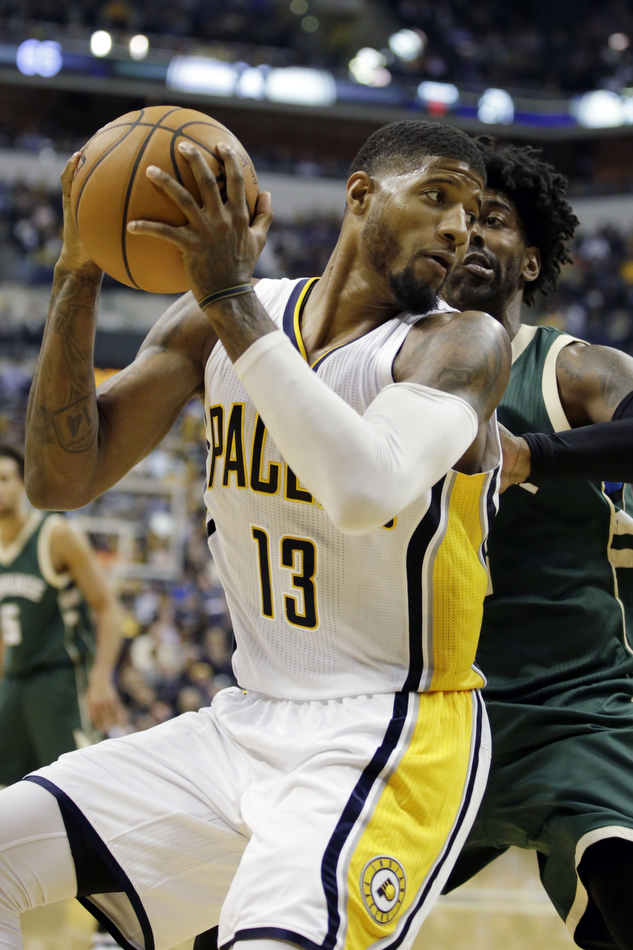 NBA: Milwaukee Bucks at Indiana Pacers