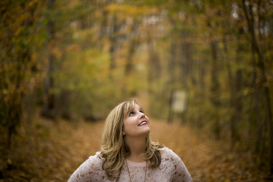 Barbara Brosher poses for a photo on Saturday, Oct. 24, 2015, near Bloomington, Indiana. (Photo by James Brosher)