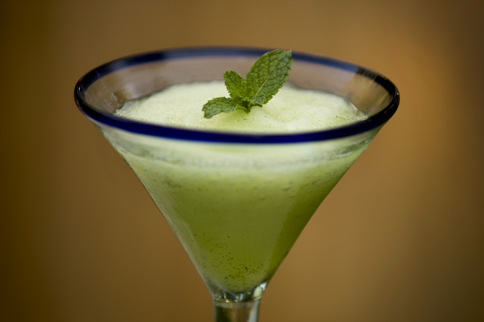 Mint Margarita Slush