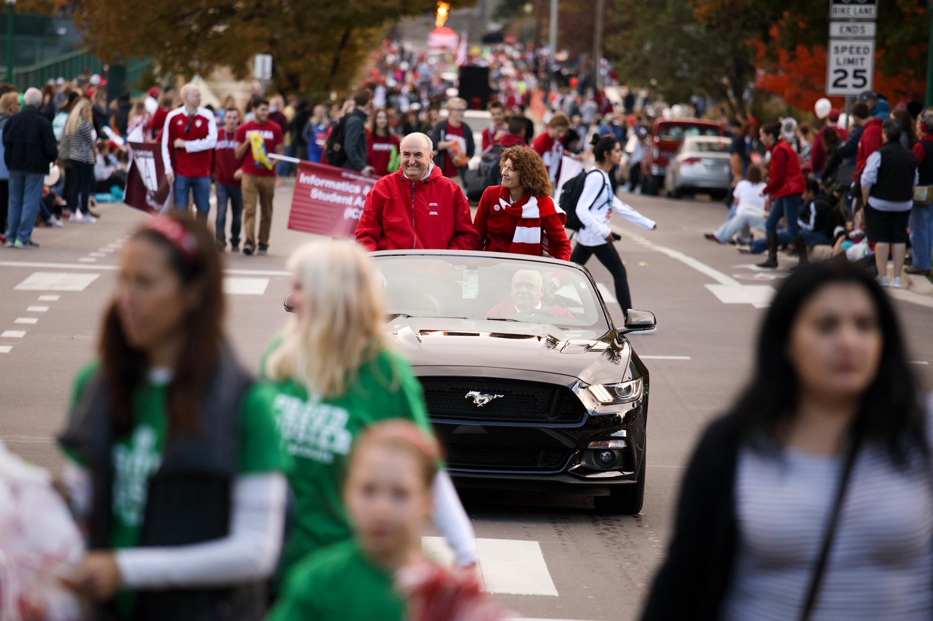 Indiana University Bloomington Homecoming Parade