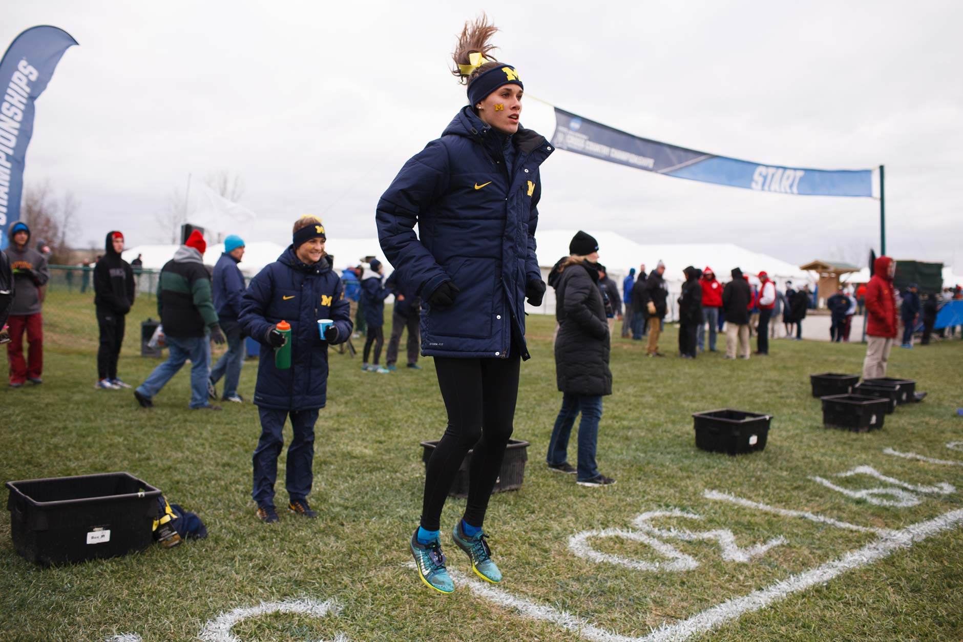 Michigan at NCAA Division I Cross County Championships