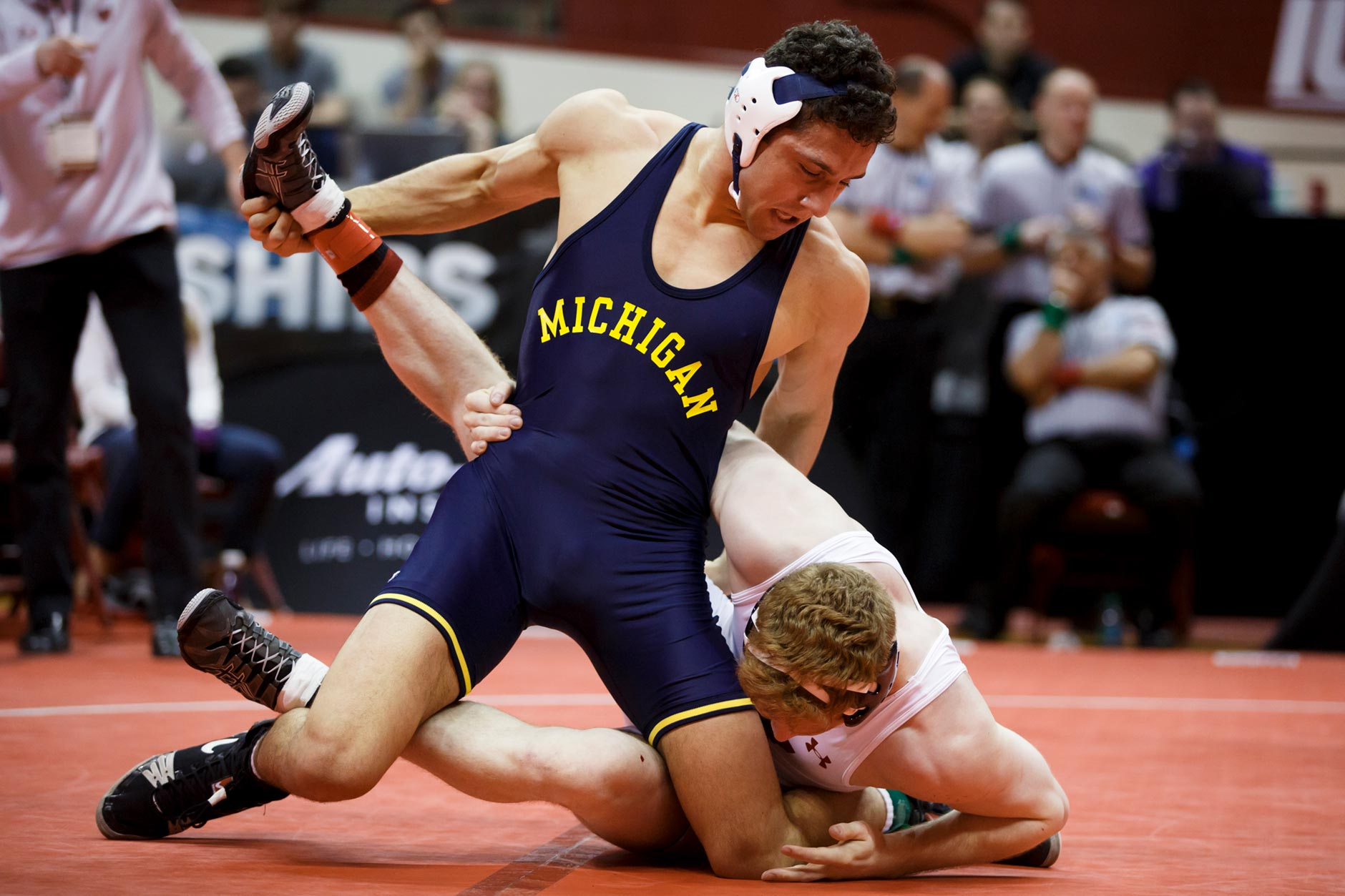 Michigan at Big Ten Wrestling Championships