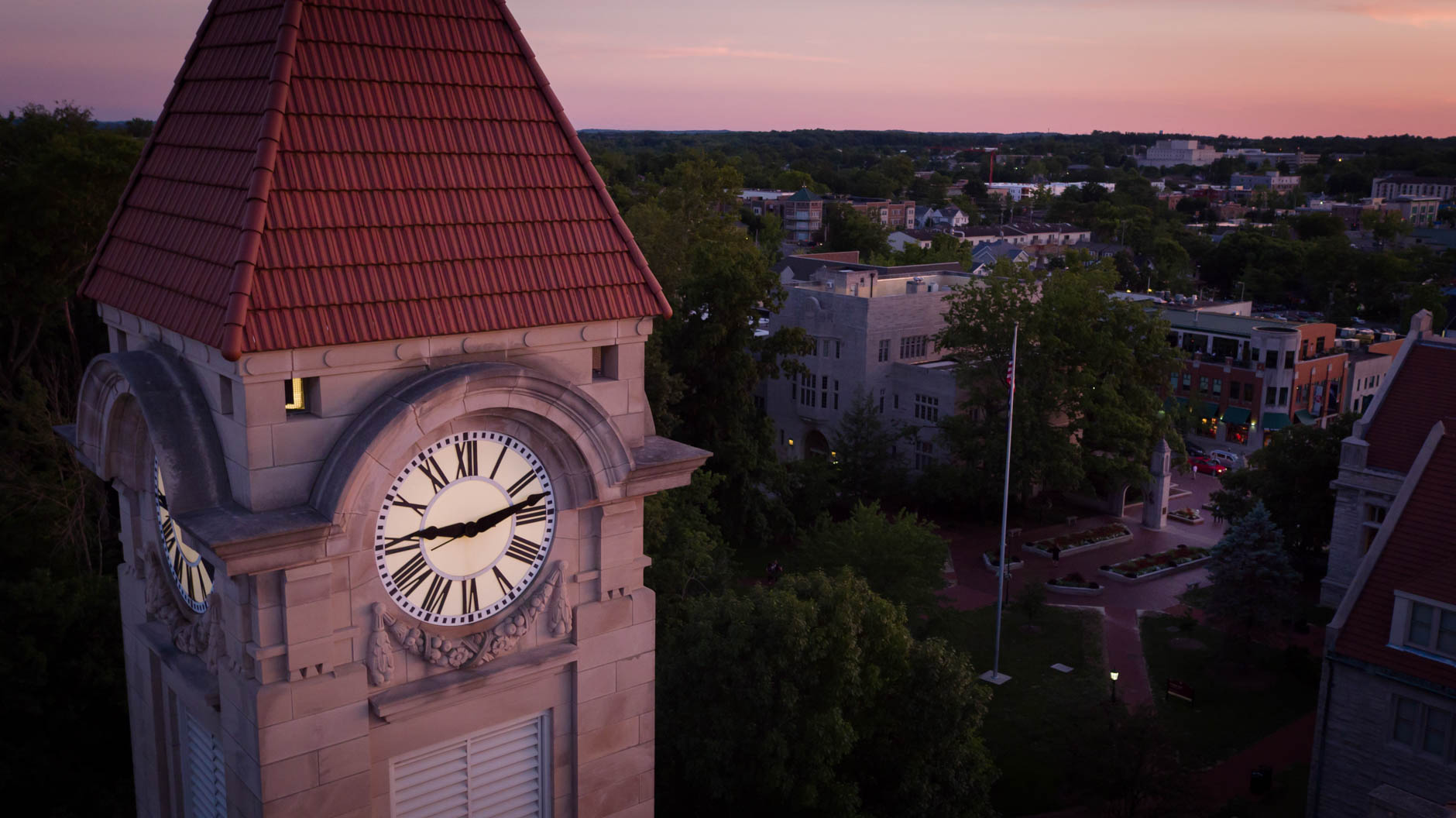Indiana University Bloomington Summer Campus Scenics