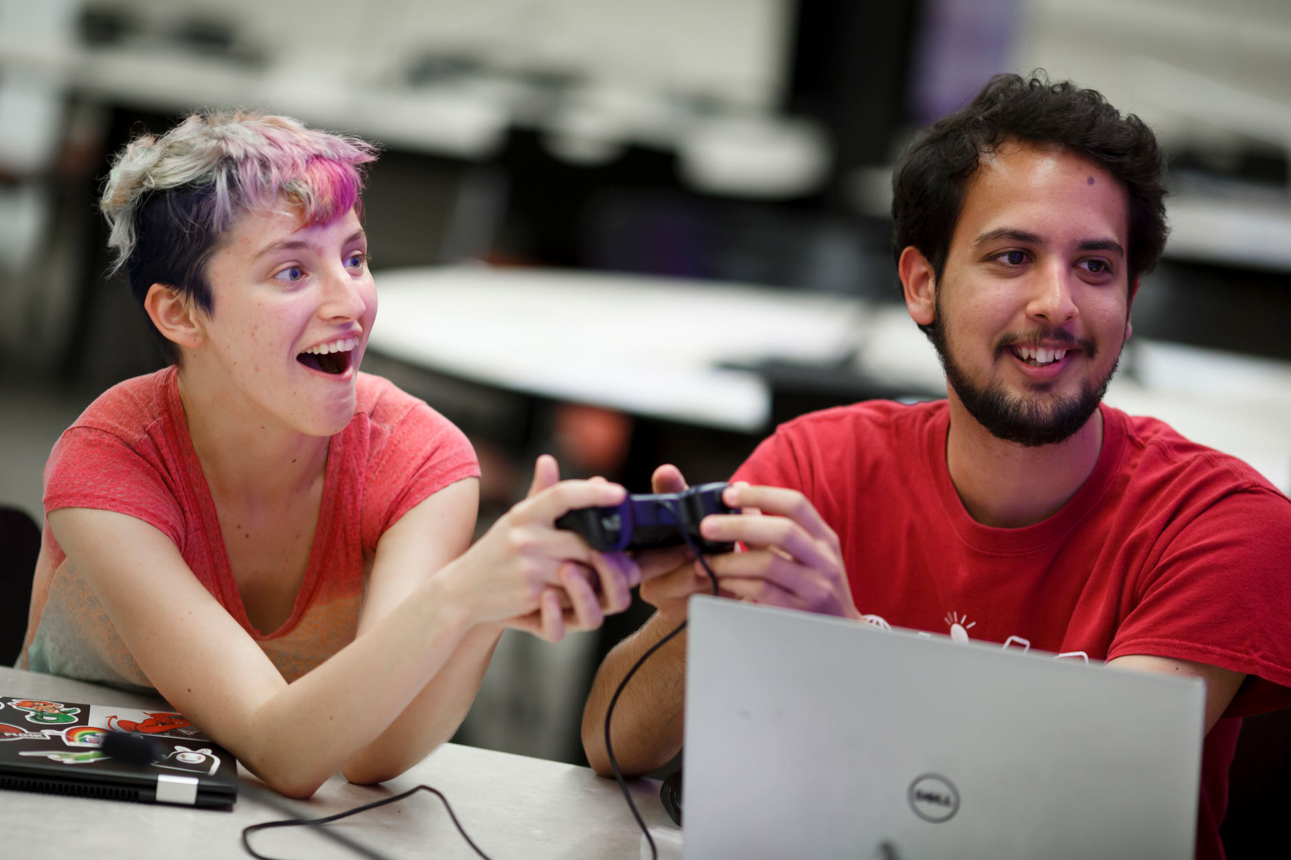 Gamedev@IU Kickoff Jam in the Student Building on Friday, Aug. 31, 2018.
