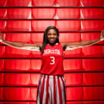Princeton High School basketball standout Jackie Young – Princeton, Indiana – April 1, 2016. (Photo by James Brosher)