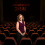 Indiana University Cinema Associate Director Brittany Friesner – Bloomington, Indiana – June 10, 2015. (Photo by James Brosher)